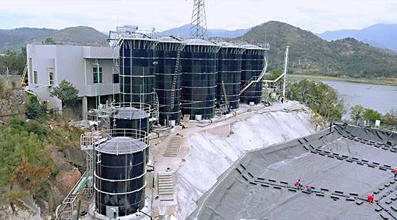 垃圾渗滤液处理工程案例