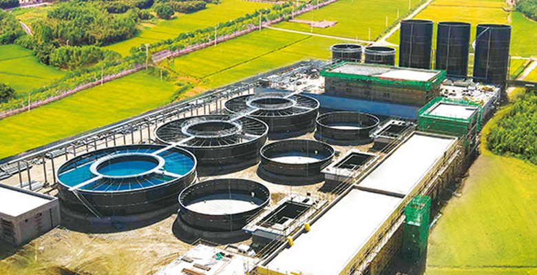 甘肃武威乳制品污水处理项目
