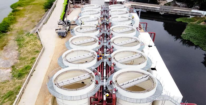 广西梧州乡镇污水处理工程