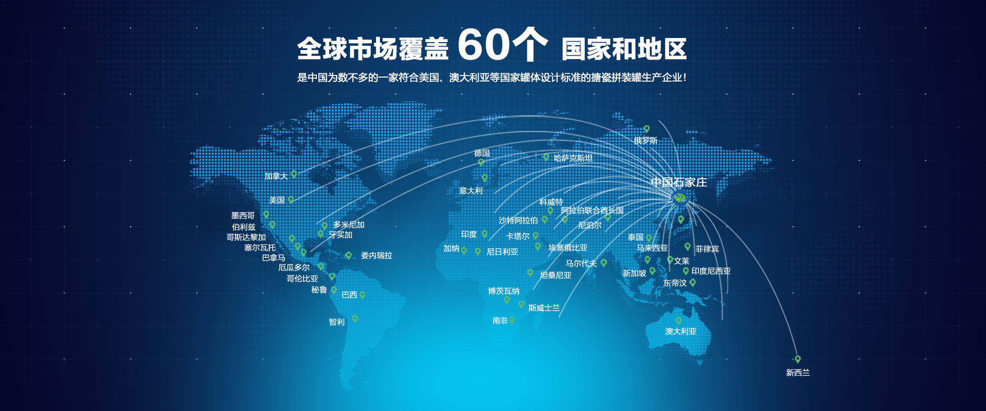 全球市场分布