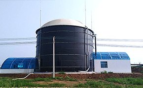 山西运城沼气工程